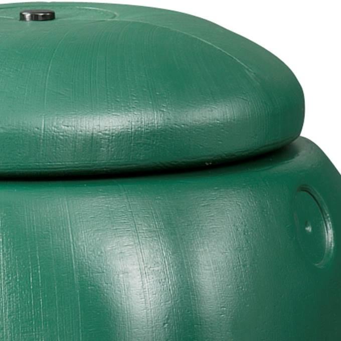 Kunststof regenton groen ca. 100 liter