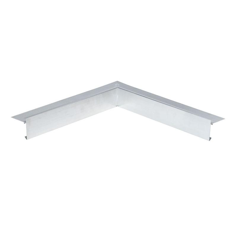 Aluminium Daktrim | Standaard | Binnenhoek | Brute