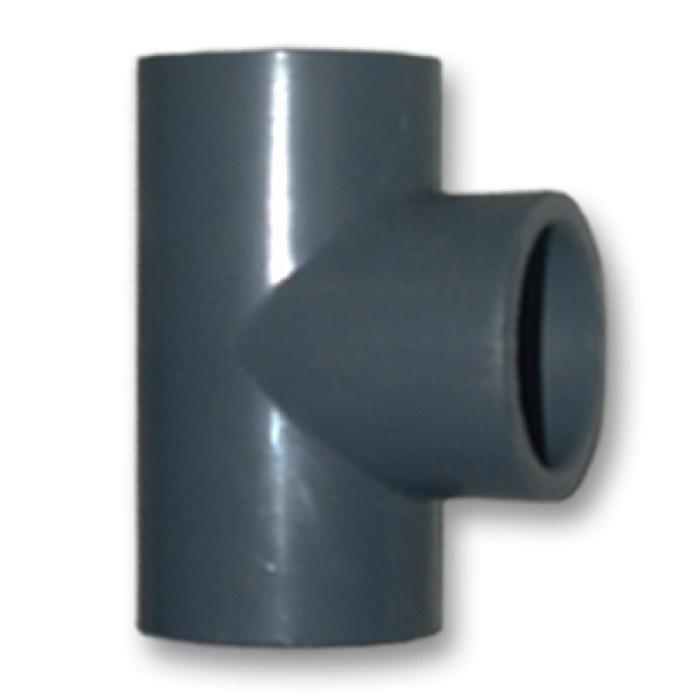 T-Stuk 90° Druk PVC