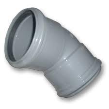 Bocht 45° Afvoer PVC Manchet