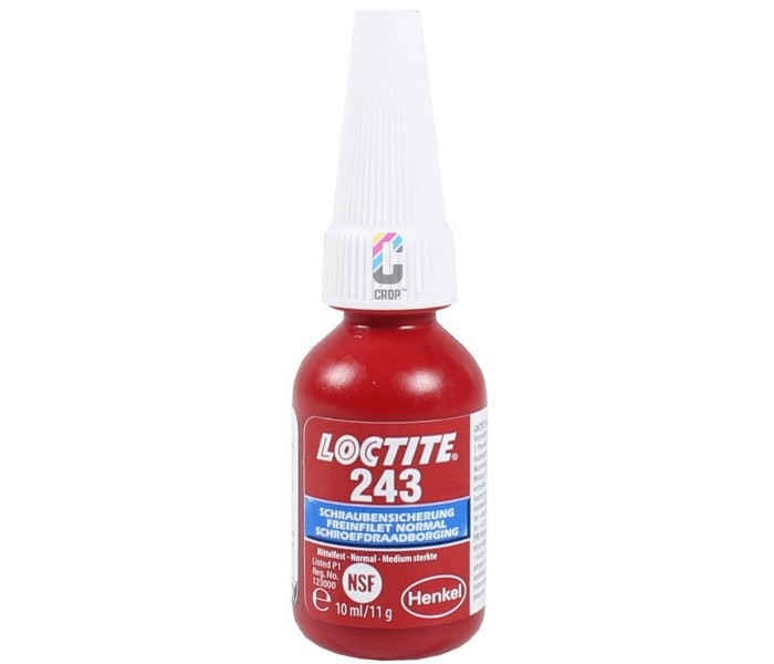 Loctite 243 10ml Schroefdraadborging