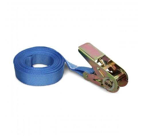Spanband 1-delig met ratel, 5 mtr 350 kg