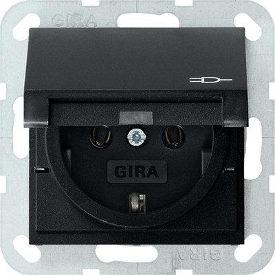 Gira wcd met randaarde klapdeksel IB ZM