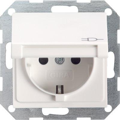 Gira wcd met randaarde klepdeksel IB ZWG