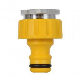 Kraanstuk ¾ met adapter22mm binnendraad