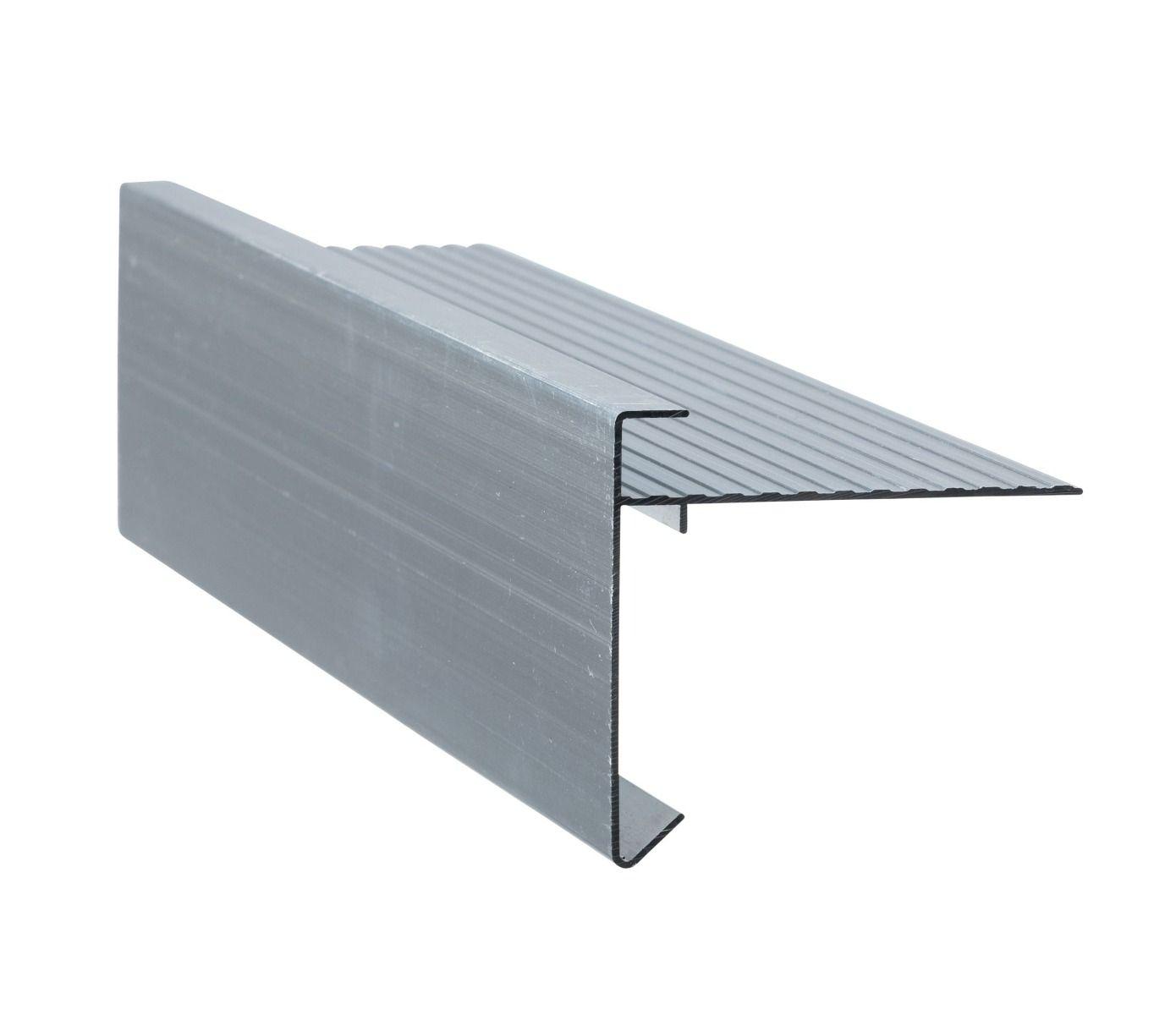 Aluminium Daktrim | Standaard | Lengte 250 cm | Brute