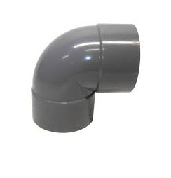 Bocht 90° Afvoer PVC Lijm