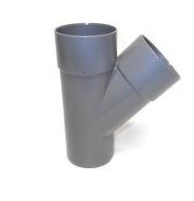 T-Stuk 45° Afvoer PVC Lijm