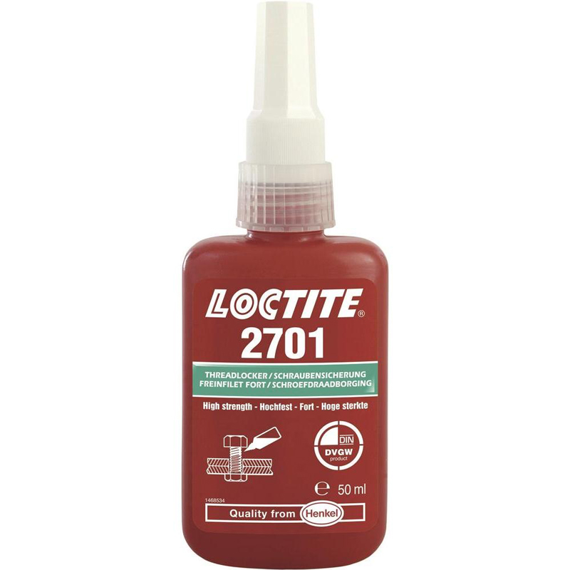 Loctite 2701 50ml Schroefdraadborging